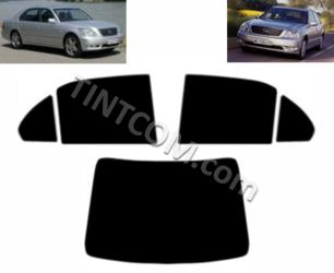 Тонировка - Lexus LS (4 двери, Седан, 2001 - 2006) Johnson Window Films - серия Ray Guard